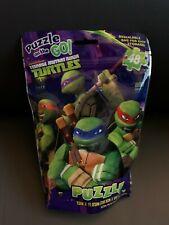 New TMNT Teenage Mutant Ninja Turtles 48 Piece Puzzle on the Go!