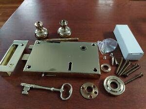 Baldwin Hardware Forged Brass Horizontal Rim Lock