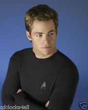 Chris Pine 8 x 10 GLOSSY Photo Picture IMAGE #3