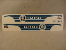 Res1Cue Customs - City of Northwood Police Decals  '97 Ford  1:43 Scale  (418)