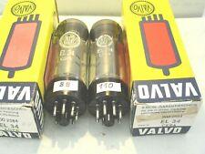 Röhren: EL 34 von Valvo! 2 x mit guten Werten.