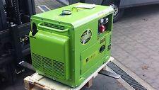 Zipper Stromerzeuger Generator ZI-STE7500DS Diesel Stromaggregat Silent leise