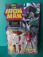 "TOY BIZ 5""IN IRON MAN ""CRIMSON DYNAMO"" WITH BLASTING ACTION  1996"