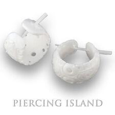 Ohrringe Flesh Tunnel Horn Plug Piercing schmuck Er163