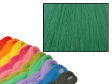 CYBERLOXSHOP PHANTASIA KANEKALON JUMBO BRAID PETROL GREEN HAIR DREADS