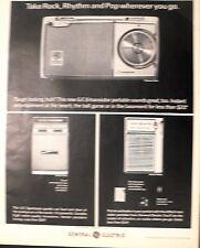 1964 General Electric G-E 8-Transistor Portable-Sportmate Radio Model P856 Ad