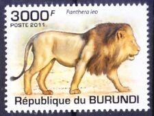 Burundi 2011 MNH, Lion, Wild Animals (P1n)