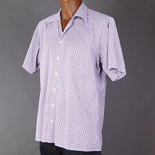 Klassische Kurzarm Herrenhemden mit Button-Down-Kragen Olymp