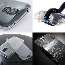Handyhülle Tasche Etui Case Cover Silikon Schutzhülle+Panzer Glas Folie