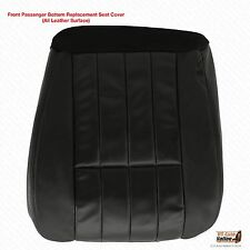 2005-2007 Ford F-250 Harley Davidson Passenger Bottom Leather Seat Cover Black