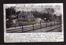 115756 AK Reichelsdorf Reichelsdorfer Keller 1903 Gasthaus Bahnhof Bahnstation