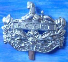 Staybright Gloucestershire Regiment Cap Badge Anodised Aluminium (maker FIRMIN)