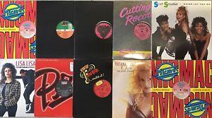 "Lot Of 10 Latin Freestyle Dance 12"" Vinyl Record Singles LIZ TORRES DZYRE"