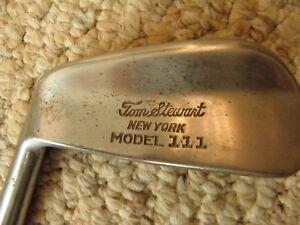 Vintage men left handed pyratone Tom Stewart model 111 single iron 4 iron