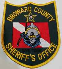 Broward County Florida Sheriff's Office Scuba / Diver Patch