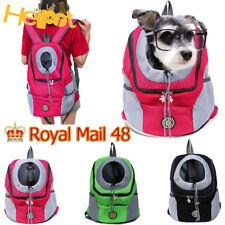 More details for pet dog carrier puppy travel mesh backpack  front travel portable shoulder bag