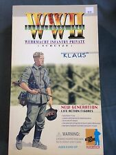 "Dragon 1/6 Scale 12"" German WWII Wehrmacht Infantry Private Schutze Klaus #70001"