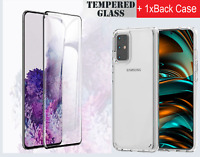 For Samsung S20+ S10e S20 Ultra Tempered Glass Screen Protector / Case Cover
