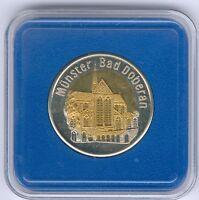Bad Doberan Medaille der Glockenweihe im Münster 2012 (Bi-Metall) D.30mm, UNC.-