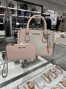 Michael Kors Hope Medium Messenger Bag And Wallet Set