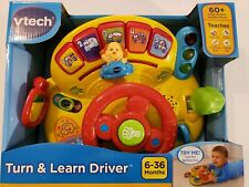 VTech Turn and Learn Driver Steering Wheel Toy Fun Baby Car