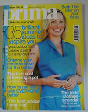 Prima Magazine August 2001. 35 brilliant summer ideas to inspire-you. Dresses.