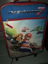 Mario Kart 7 Rolling Luggage Suitcase With Handle