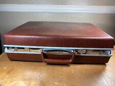 Vintage Samsonite Briefcase Brown Classic IV Hard Shell Attache