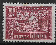 Ned. Indie Repoeblik Indonesia Java- Madoera Zonnebloem 37