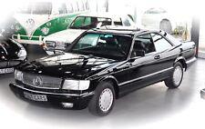 Mercedes Benz 560 SEC Coupe W126 Automatik Oldtimer 500 er Serie