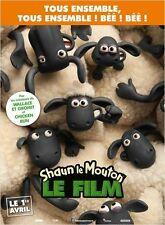 Affiche 120x160cm SHAUN LE MOUTON /SHAUN THE SHEEP MOVIE 2015 Mark Burton - Neuv