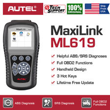 Autel MaxiLink ML619 OBD2 Scanner Code Reader Car Check Engine ABS SRS Airbag US