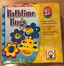 Discovery Toys Rare Bathtime Bugs Water Bath Toys set of 4 Brand New!