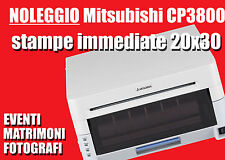 STAMPANTE SUBLIMAZIONE mitsubishi CP3800 FORMATO 20X30 NOLEGGIO