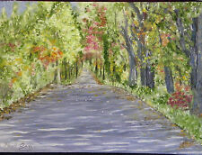 """Fine Art Oil Painting,Landscape, """"Saltair - Canter Rd."""", 18"""" X 24"""", on panel"""