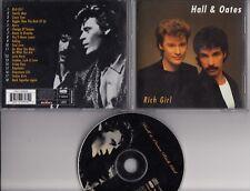 HALL & OATES Rich Girl 18 track 1998 CD ALBUM BMG GERMANY FREEPOST