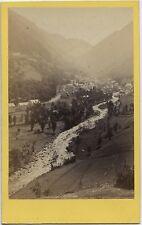 Cauterets Pyrénées France Vintage albumine cdv ca 1865