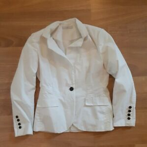 Charlotte Russe White Blazer Jacket One-Button L