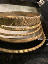 Gold Plated Bangle Bracelets