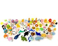 30 Assorted Iwako Eraser Animal Collection items randomly selected from image