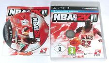 "PS 3 PlayStation 3 juego ""nba2k11 baloncesto"" completamente"