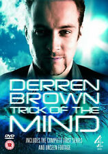 TRICK OF THE MIND COMPLETE SERIES 1 DVD Derren Brown  Michel Roux UK New R2