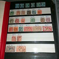 France :Album 36 Pages dont 32 pages de timbres oblitérés toutes périodes