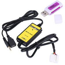Car USB Aux-In Adapter MP3 Player Cable Radio Audio Interface for Honda Civic SS