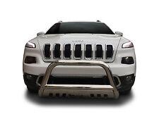 Broadfeet Front Bull Bar Bumper Guard 2014-2017 Jeep Cherokee Under Tow Hooks