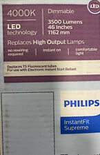 Philips T5 24w LED replaces 54w Works On Electronic Ballast 4K Dimm (10-PACK)