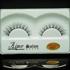 1 Pair Natural Handmade Eyelashes Black False Eye Lashes Extension Brand Makeup
