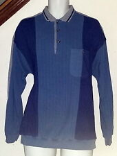Puritan Vintage 70's-80's Collared Pullover Shirt w/Pocket Mens Large