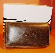 New Roberto Cavalli Freedom Gray Leather Key holder with the box