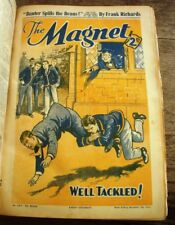 Richards, Frank, The Magnet Magazine. Bound Run. Numbers 1450 to 1568. 119 Con..